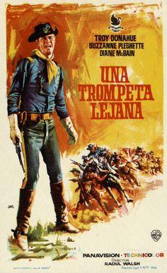 268. JANO. Una trompeta lejana. Dirigida por Raoul Walsh. Valencia: Gráficas Valencia, 1964. #ProgramasdeMano #BbtkULL #Western #DiadelLibro2014