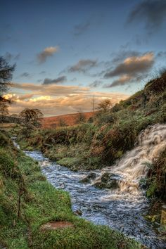Taken at Goyt Valley in the Peak District National Park, near Macclesfield,Cheshire. UKWater comes down from the hill Interesting Photos, Cool Photos, Genius Loci, Valley View, Peak District, Derbyshire, Landscape Photographers, Hdr, Waterfalls
