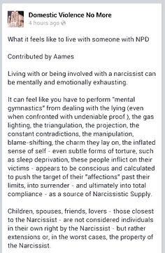 Narcissistic sociopath 1/6 A Help for narcissistic sociopath relationship survivors
