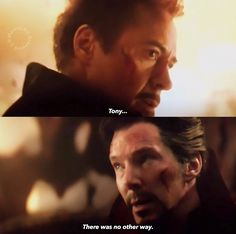 In Infinity War Dr. Strange only calls iron man as Stark up until to the point where he saw the 14 million possibilities then he called him tony because to his point of view their friendship is way more closer now than ever. Marvel Comics, Heros Comics, Marvel Films, Marvel Avengers, Avengers Memes, Marvel Memes, Doctor Strange, Comics Universe, Marvel Cinematic Universe