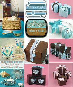 The popularity of a chocolate brown and aqua blue colored wedding has been growing in the past few years and it is one of the most popular choices in 2012. The blue color that gets combined with chocolate brown can vary from aqua blue to robins egg, light, and turquoise blue. No matter what you might call that particular hue of blue, you should be able to find plenty of wedding attire, ceremony items and reception supplies that will tie in perfectly with your color scheme. Brides love the…
