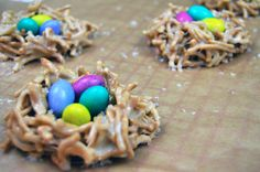 Easter Egg Nests ~ The Starving Chef