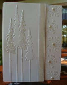 Branch Tree and Tall Pines Universal Embossing Folder Set by Sizzix | eBay