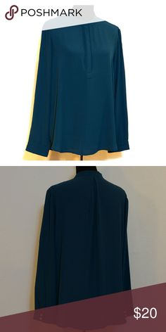 Bellatrix blouse Rich teal, zipper collar Bellatrix  Tops Blouses