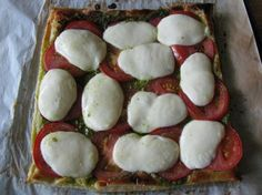 The Neely s Caprese Tart from Food.com:   The Neely's