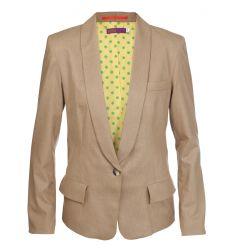 Ladies Core Camel Suit Jacket