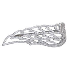 Eagle Wing Silver Ring for Women