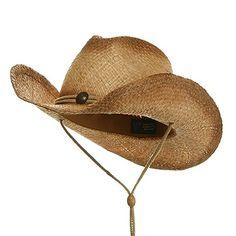 MG Tea Stain Raffia Straw Cowboy Hat (Natural) http   amzn. ec79547f9067