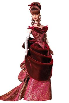 This Victorian Barbie is way better than the last (cheesy) one!  You there!  Buy it for my thesis!