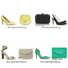 New Arrivals  owambe mood activated #bag #shoes Nationwide Delivery from 24hrs. Pay on delivery within Lagos www.questworld.com.ng