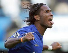 former Chelsea stiker Didier Drogba
