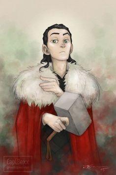 King Loki by CaptBexx on DeviantArt - uuumhmm! That's right :)!