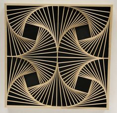 Jeannye Dudley | Mathematical Art Galleries - see entire gallery for abundant geometric inspiration.