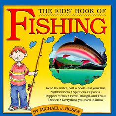 The Kids' Book of Fishing  AwesomeFishingClothing.com