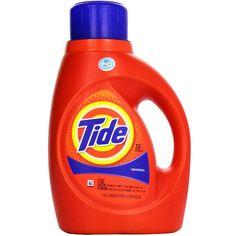 En Rite Aid puedes conseguir el detergente liquido Tide de 46-50 oz a $5.34 en especial desde el 1/22-1/28. Compra (1) y utiliza cupón digi..