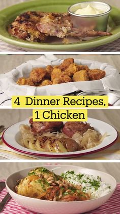 Turkey Recipes, Chicken Recipes, Dinner Recipes, Good Food, Yummy Food, Tasty, Dory Memes, Frango Chicken, Tastemade Recipes