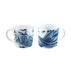 Ranked #2 in the Ultimate Metropolitan Home Design 100, this design will get under your skin. Imagined by LA's top tattoo artist, Paul Timman, these unique pieces take inspiration from Japan's tattoo t...  Find the Irezumi Mugs Gift - Set of 2, as seen in the Gifts Under $50 Collection at http://dotandbo.com/collections/gifts-under-50-dollars?utm_source=pinterest&utm_medium=organic&db_sku=INK0021