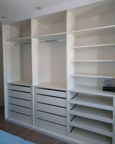 Wardrobe Design Bedroom, Master Bedroom Closet, Bedroom Furniture Design, Bedroom Wardrobe, Small Room Bedroom, Home Bedroom, Bedroom Decor, Kids Wardrobe, Bedroom Cupboards