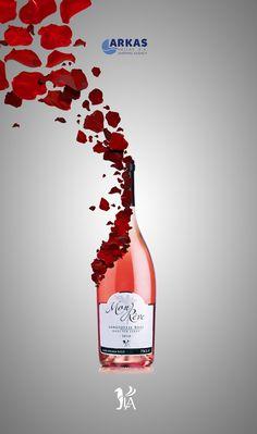 LA Wines - design by Koray Cengiz #wine #advertisement