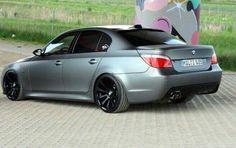 BMW E60 5 series matte silver