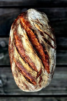 Durum wheat Bread ~ Poolish Starter