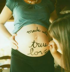 Babybump with true love