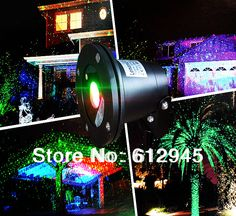 2014 new type Waterproof laser Landscape lighting for outdoor.Sky star Green Red laser light Projector for outside