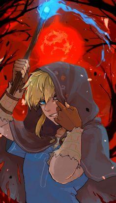 Legend of Zelda: Breath of the Wild The Legend Of Zelda, Legend Of Zelda Memes, Legend Of Zelda Breath, Fanart, Link Art, Different Art Styles, Demon King, Link Zelda, Twilight Princess