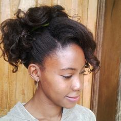 Lets Grow Our Hair!: Curly Updo
