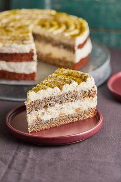 Sweet Recipes, Cake Recipes, Poppy Cake, Hungarian Recipes, Sweet Life, No Bake Cake, Vanilla Cake, Oreo, Mousse