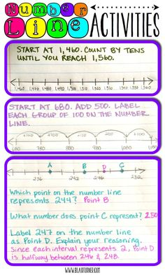 Printable Number Line 1-100. Prints on two pages. Perfect for skip ...