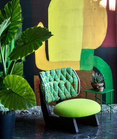 The best dining room sets created by Patricia Urquiola arrived! The best of Patricia Urquiola for your dining room. Patricia Urquiola, Living Colors, Green Rooms, Dining Room Sets, Interiores Design, Decoration, Colorful Interiors, Modern Decor, Interior And Exterior