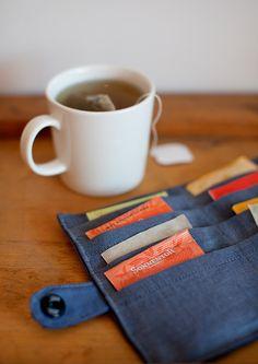 Etui à thé de voyage :)