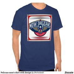 Pelicans men's shirt with design