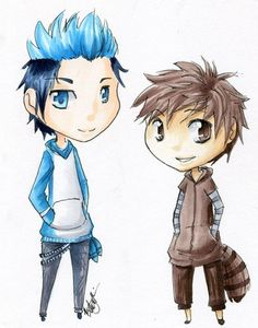 Mordecai and Rigby  by *BracingHope