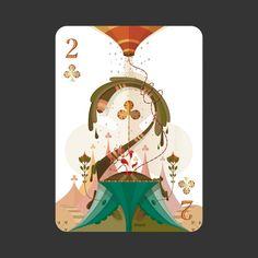 52Aces - projeto de baralho ilustrado