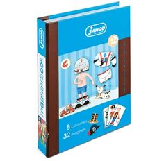 Buy Janod Magnetic Boy Book Product Online Australia | No i Deer Gifts