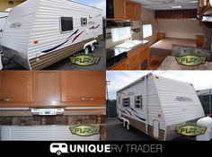 This #Gulf_stream Ameri lite 21MB #Travel_trailer has Rear Corner Bath w/Lav., Tub, Closet, TV Above Refrigerator, 3 Burner Range, Microwave, Double Kitchen Sink, Booth Dinette, Front Lift-Up Queen Bed w/Nightstands and many More features. Now you can easily book this nice looking travel trailer by Folsom Lake RV Center for just $11388 in Rancho Cordova, CA, USA at UniqueRvTrader.Com