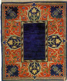 Pre Raphaelite Art: William Morris - Hammersmith Carpet, c. Art Nouveau, William Morris Art, Edward Burne Jones, Art And Craft Design, Pre Raphaelite, Motif Floral, Victorian Art, Magic Carpet, Arts And Crafts Movement