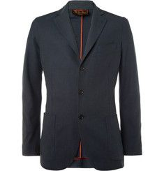 Loro PianaUnstructured Cotton and Silk-Blend Blazer