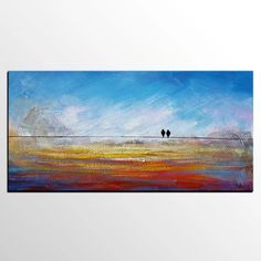 Beginning a Contemporary Art Collection – Buy Abstract Art Right Canvas Paintings For Sale, Canvas Art, Painting Canvas, Painting Tips, Love Birds Painting, Large Painting, Contemporary Abstract Art, Modern Artwork, Colorful Paintings