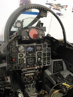 Cockpit of F-4 Phantom II