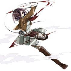 Attack on titan~ Mikasa