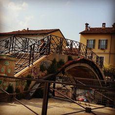 #milanodavedere #milano #navigli #ponte by alvtrn