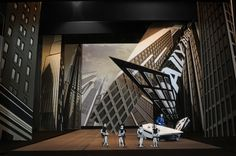 """""""Spider-Man: Turn Off the Dark"""" (Broadway 2011) - Set Model.  I saw a song from this during the Tony Awards, but I think it'd be neat to see the whole show. :)"""