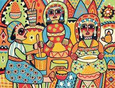Les cuisinières par Fatna Gbouri