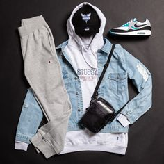 No photo description available. Dope Outfits For Guys, Swag Outfits Men, Outfits Hombre, Cool Outfits, Casual Outfits, Teen Outfits, Classy Outfits, Yeezy Fashion, Tomboy Fashion