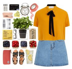 """""""Casual Summer Day"""" by lover-of-pie ❤ liked on Polyvore featuring Boskke, Illesteva, Martha Stewart, Byredo, Kiehl's, Comodynes, Tom Dixon, CB2, Wild & Wolf and Herschel Supply Co."""