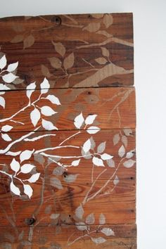 Remodelaholic | DIY Art Project: Branches Wall Art, Guest