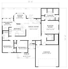 House Plan No.313110 House Plans by WestHomePlanners.com (lots of plans on this site)